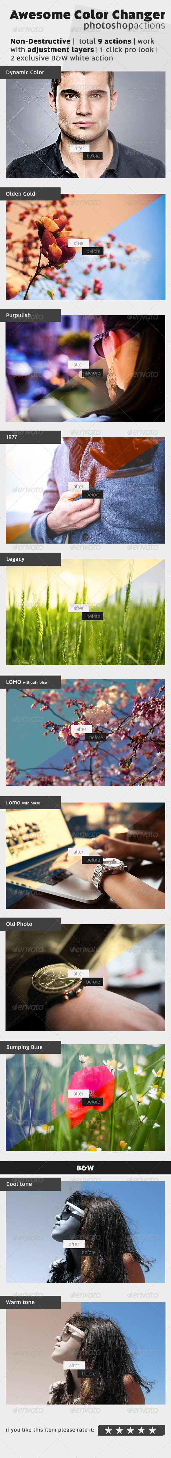 GraphicRiver Awesome Color Changer 7930562