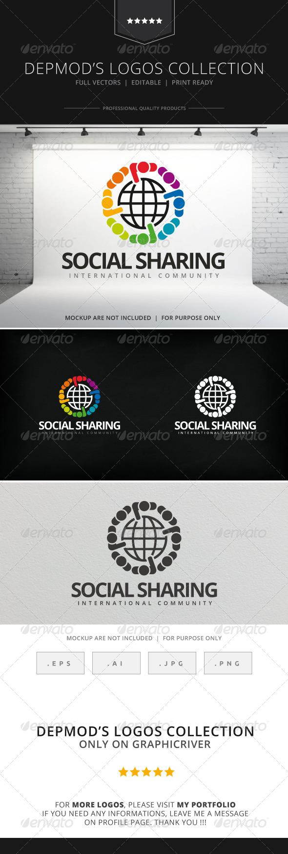 GraphicRiver Social Sharing Logo 7930590