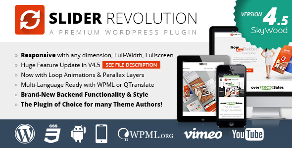 Slider Revolution Responsive WordPress Plugin