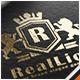Lion Letter Crest Logo - GraphicRiver Item for Sale