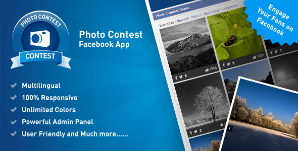 Photo Contest Facebook App