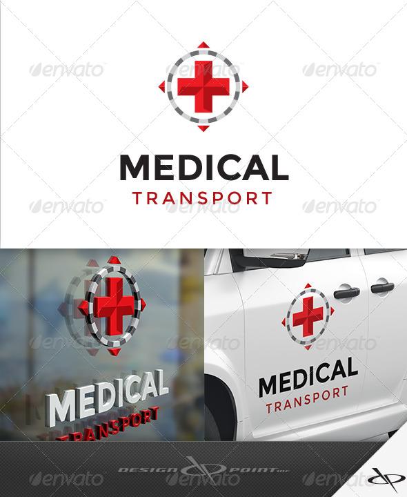 GraphicRiver Medical Transport Logo 7931064