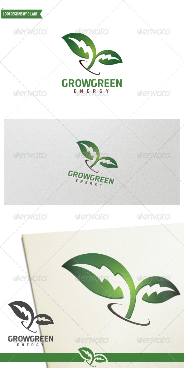 GraphicRiver Grow Green Energy 7931082