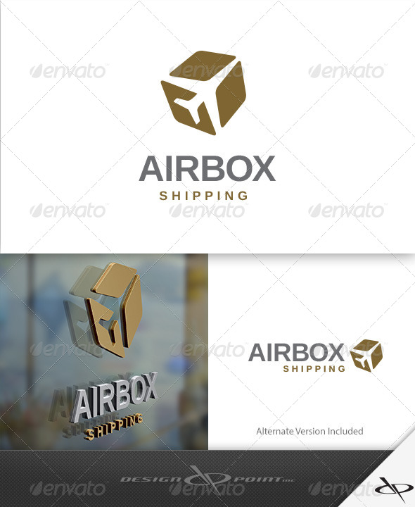 GraphicRiver AirBox Shipping Logo 7931088