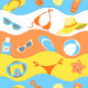 Summer Pattern - GraphicRiver Item for Sale