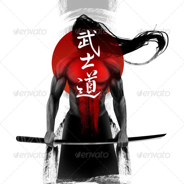 GraphicRiver Samurai 7931388