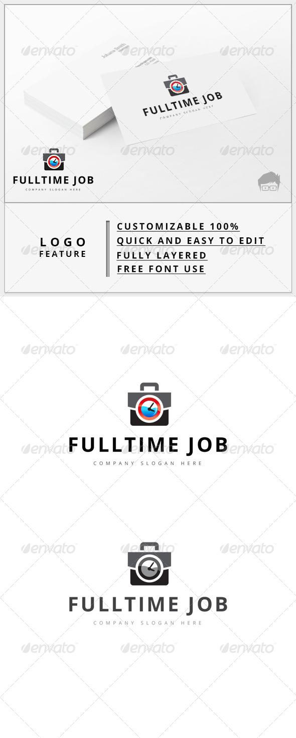 GraphicRiver Fulltime Job Logo 7931698
