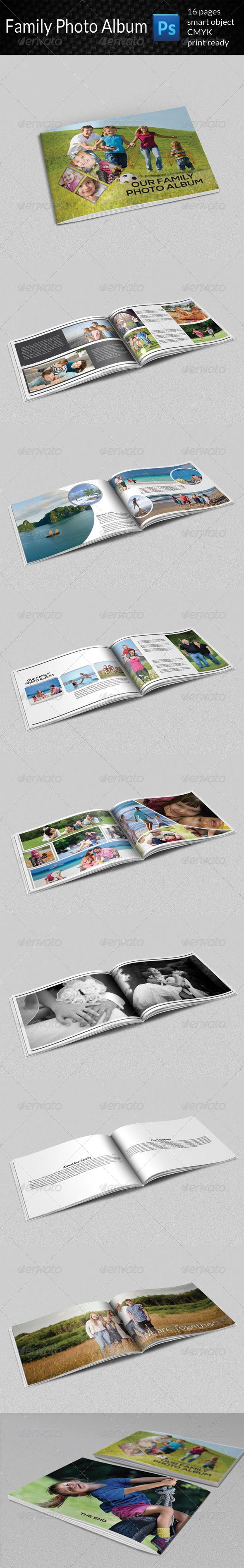 GraphicRiver Family Photo Album 7931872