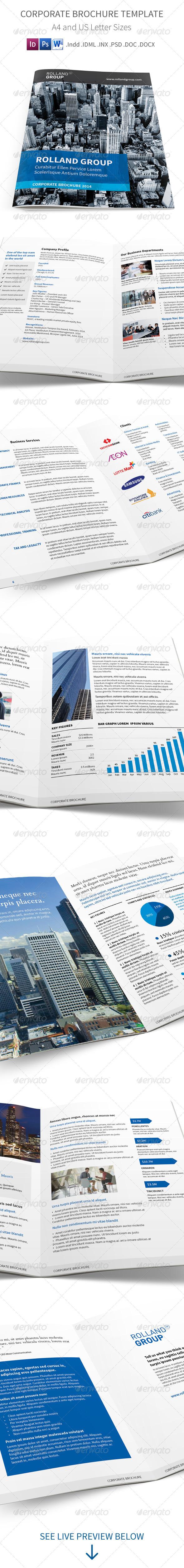 GraphicRiver Corporate Brochure Template 7932078