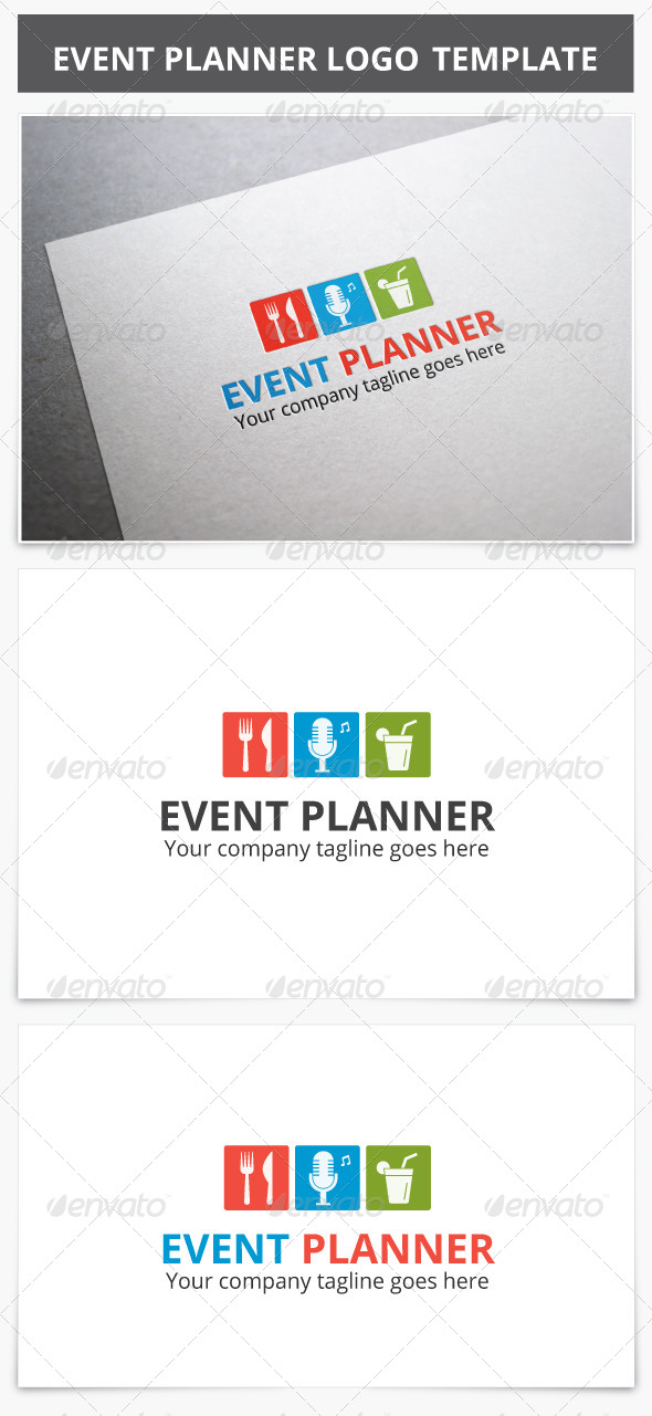 GraphicRiver Event Planner Logo 7932275