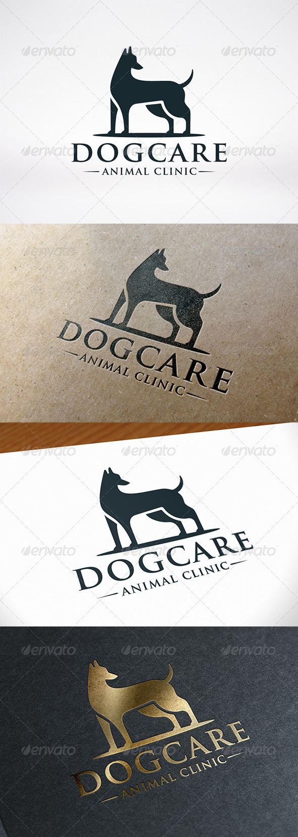 GraphicRiver Dog Care Logo 7932760