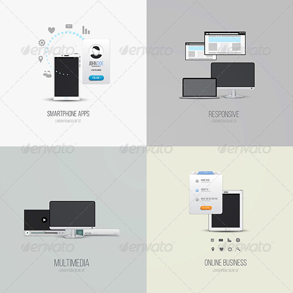 GraphicRiver UI Elements and Icons 7933137