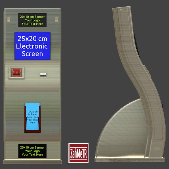 3DOcean Kiosk Terminal 7933220