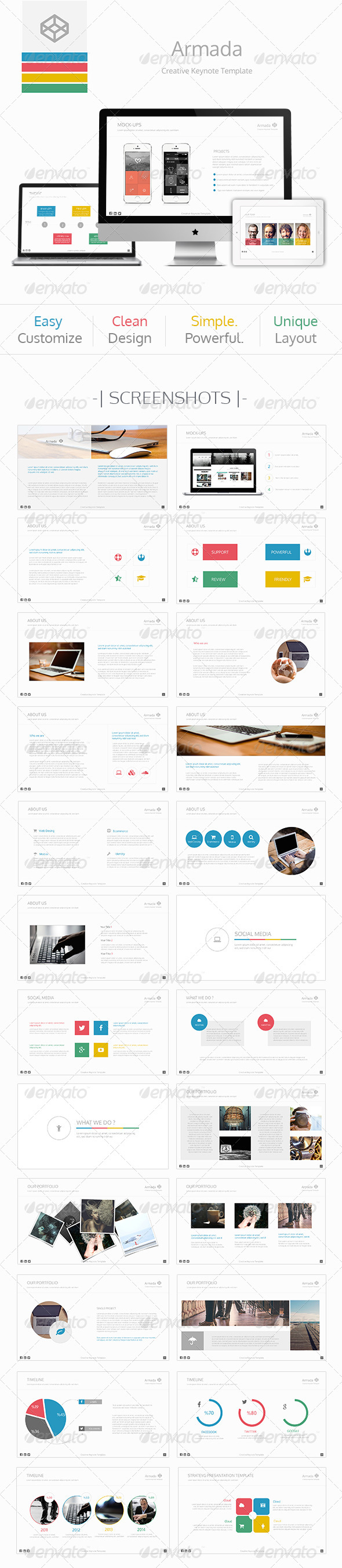 GraphicRiver Armada Keynote Template 7934235