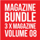 3 X Magazine Collection (Mgz Bundle Vol. 08) - GraphicRiver Item for Sale