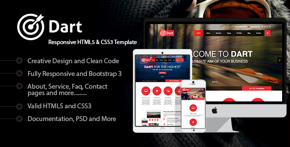 ThemeForest Dart Responsive HTML5 Business Template 7913219