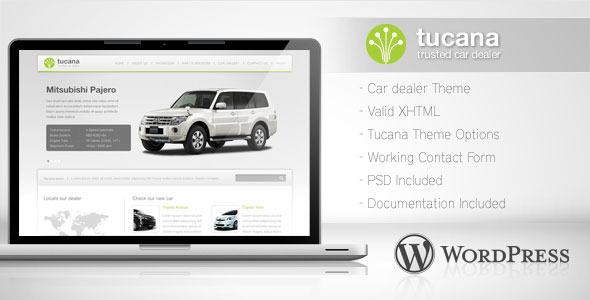 Tucana - Car Dealer Wordpress Theme - Retail WordPress