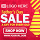 Father's Day Banner Set - GraphicRiver Item for Sale