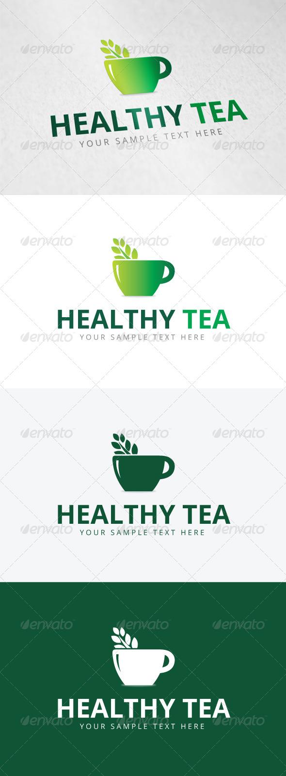 GraphicRiver Healthy Tea Logo 7935516