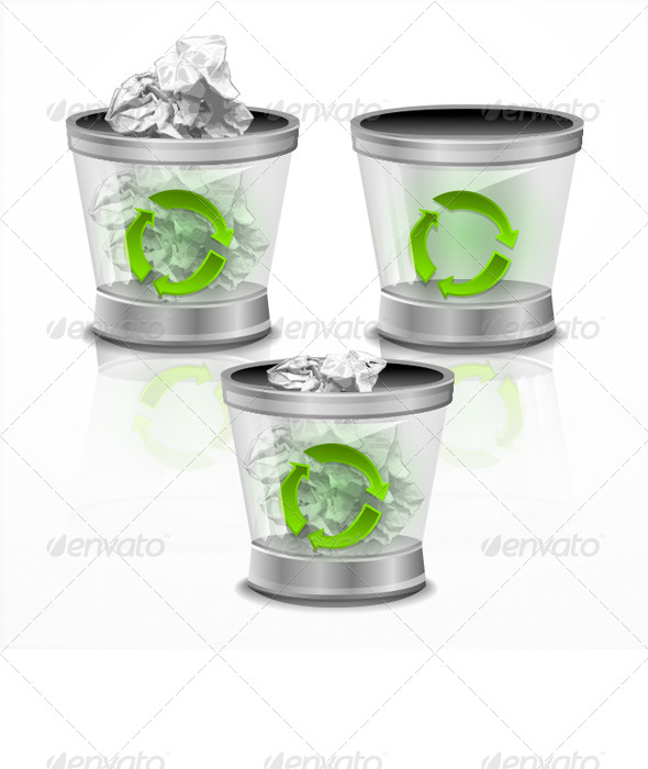 GraphicRiver Trash Bin 7931035
