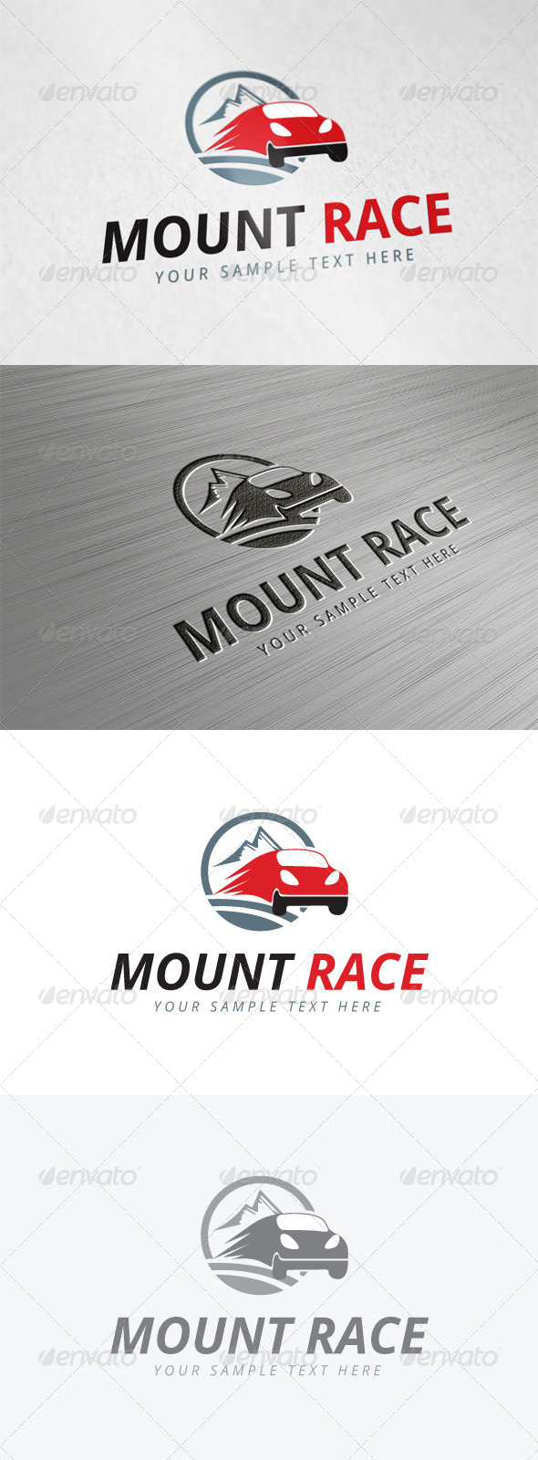 GraphicRiver Mount Race Logo 7935627