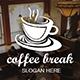 Coffee Break Logo  - GraphicRiver Item for Sale