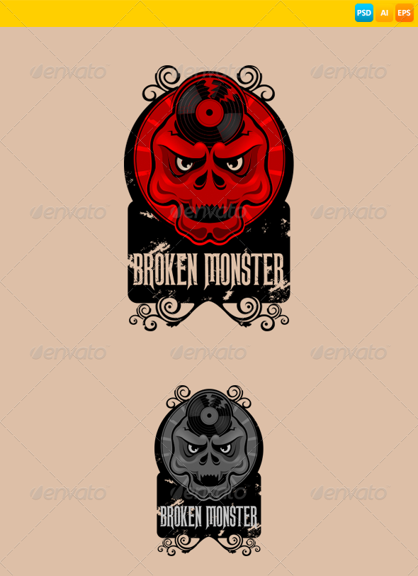 GraphicRiver Monster 7936324