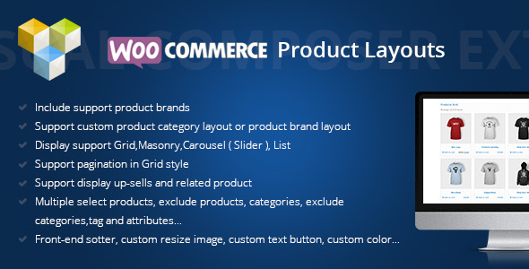 DHVC Woocommerce Products Layouts - CodeCanyon Item for Sale