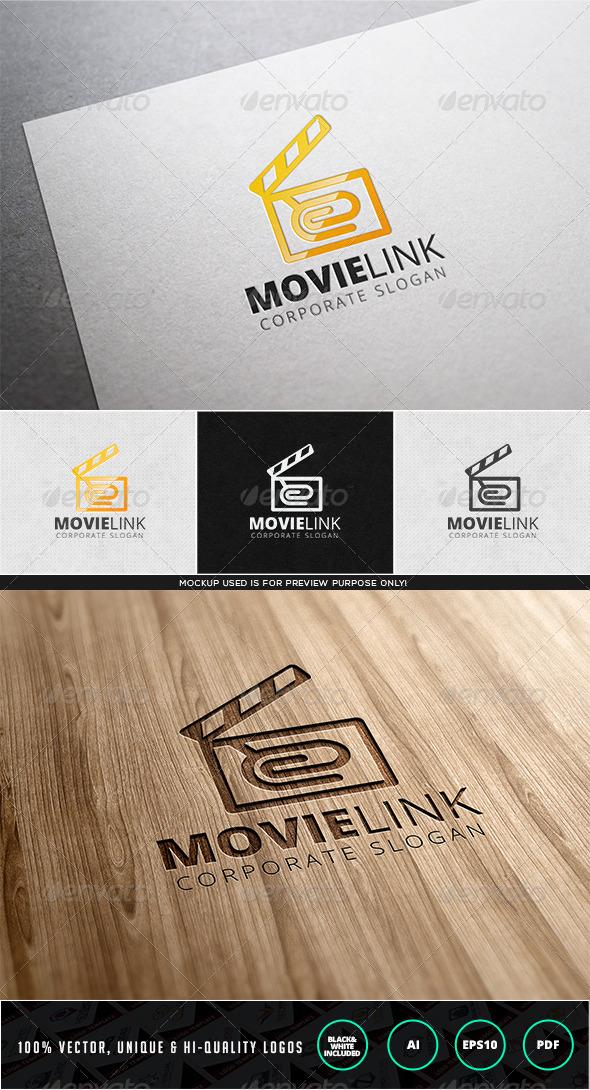 GraphicRiver Movie Link Logo Template 7936903