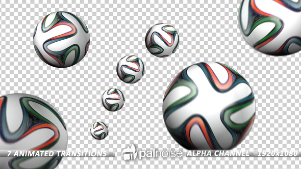 Soccer Ball Cup Transitions 7-Pack