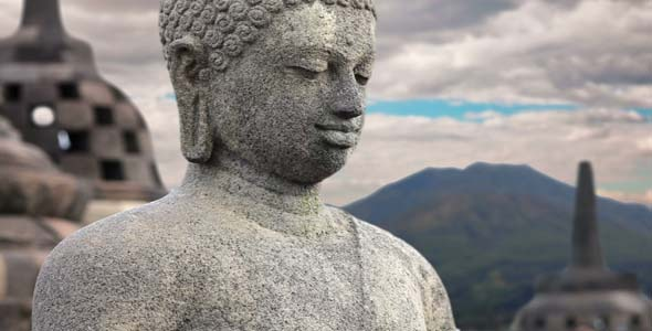 Borobudur Buddha Statue Indonesia