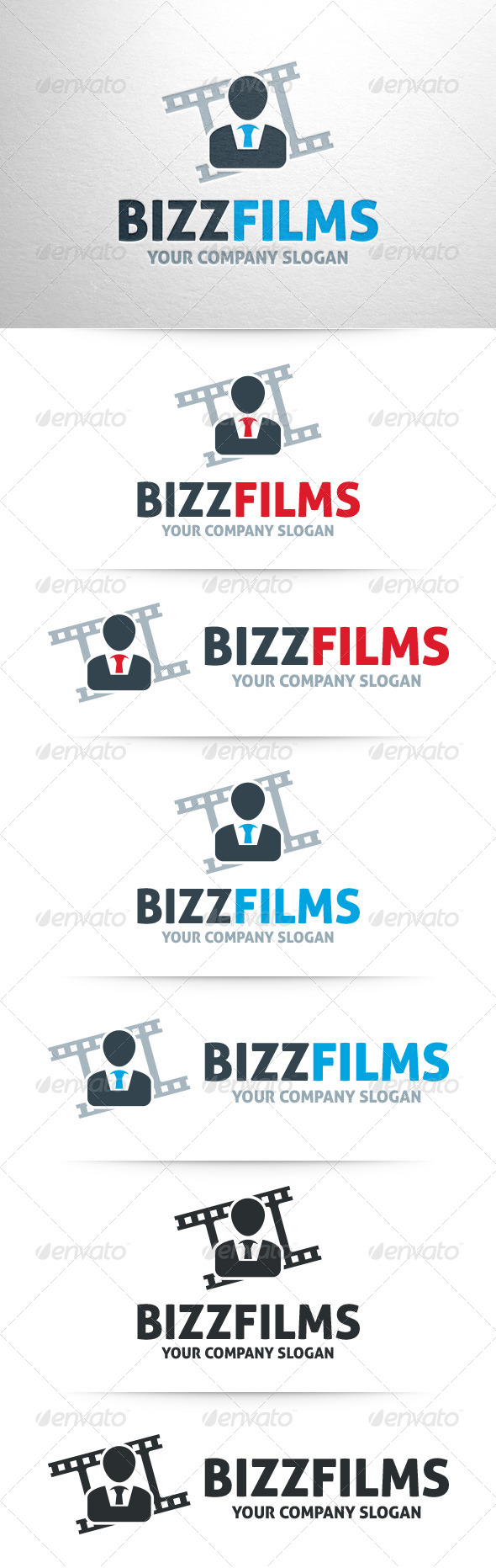 GraphicRiver Business Films Logo Template 7937047