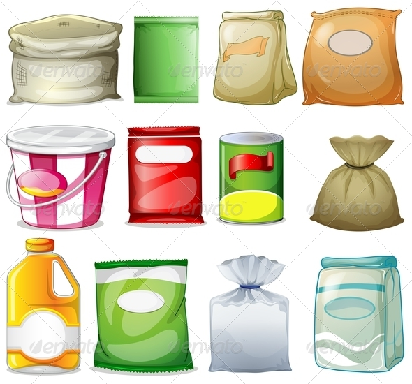 GraphicRiver Set of Packs and Containers 7937138