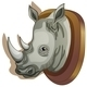 Mounted Rhino Head - GraphicRiver Item for Sale