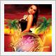 Latin Nights Tiki Luau Flyer - GraphicRiver Item for Sale