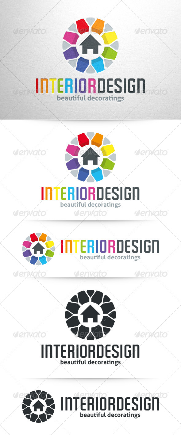 GraphicRiver Interior Design Logo Template 7937552