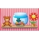 Shelf with Bear, Fish Bowl and Toy Flower - GraphicRiver Item for Sale