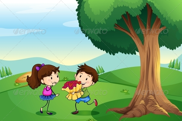 GraphicRiver Boy Dating a Girl 7937653