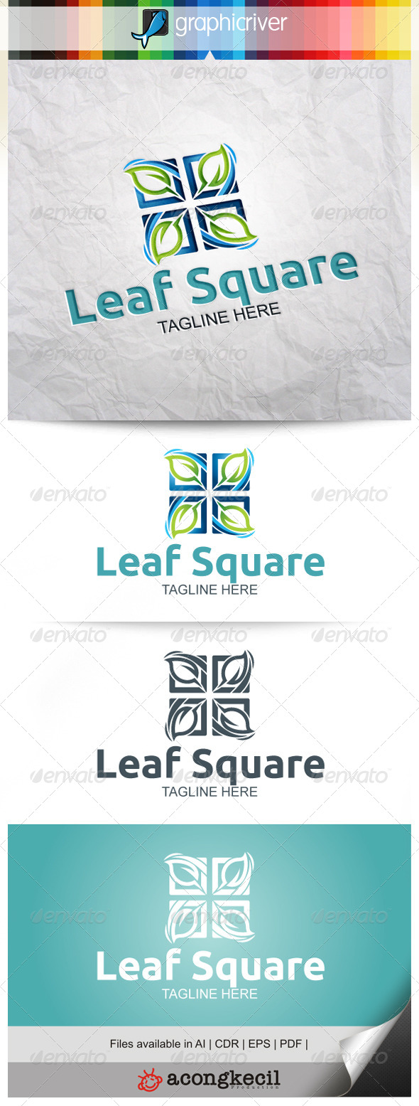 GraphicRiver Leaf Square V.4 7937669