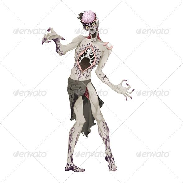 GraphicRiver Zombie 7937673