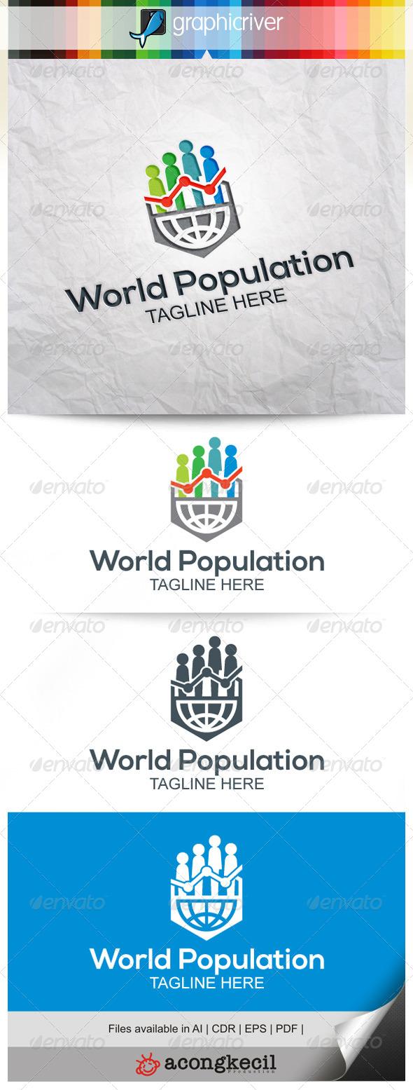 GraphicRiver World Population 7937709