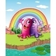 Two Monsters at the Riverbank with a Rainbow - GraphicRiver Item for Sale