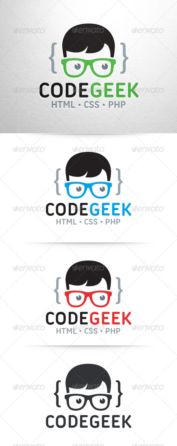 GraphicRiver Code Geek Logo v2 7937786
