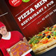 Pizza Restaurant Menu Flyer (Trifold) - GraphicRiver Item for Sale
