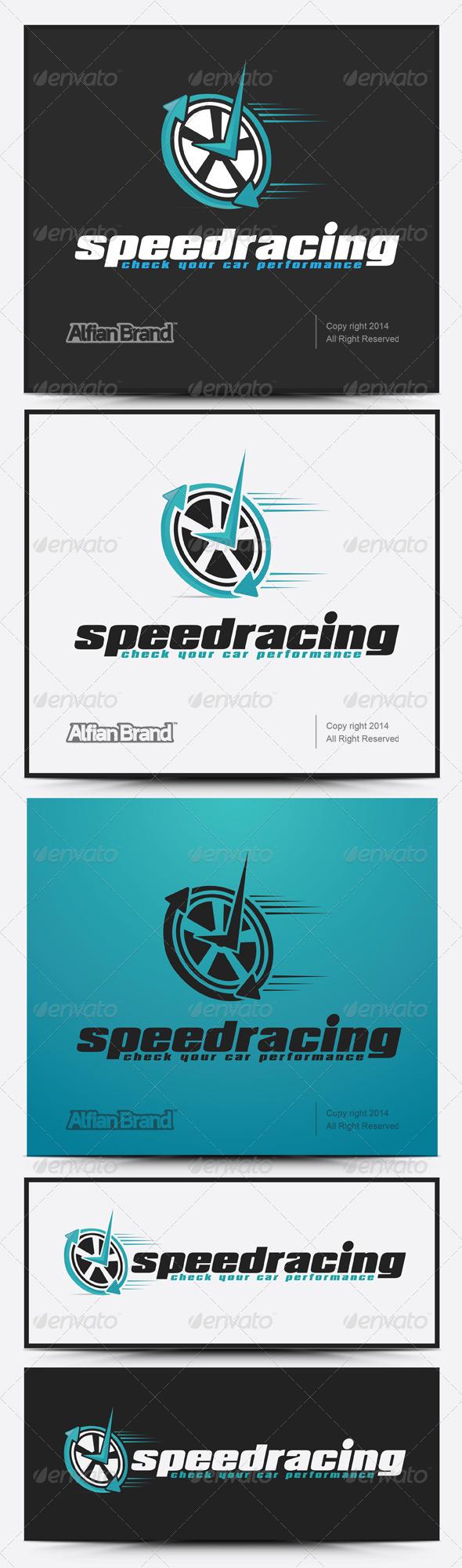 GraphicRiver Speed Check Logo 7938058