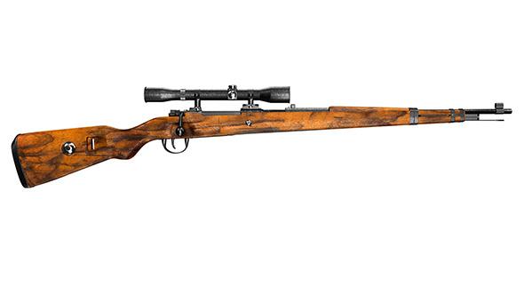 Mauser K98k - 3DOcean Item for Sale