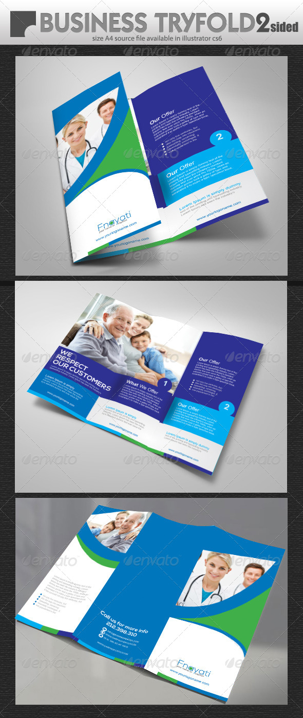 GraphicRiver Business TriFold Brochure Design 7907078