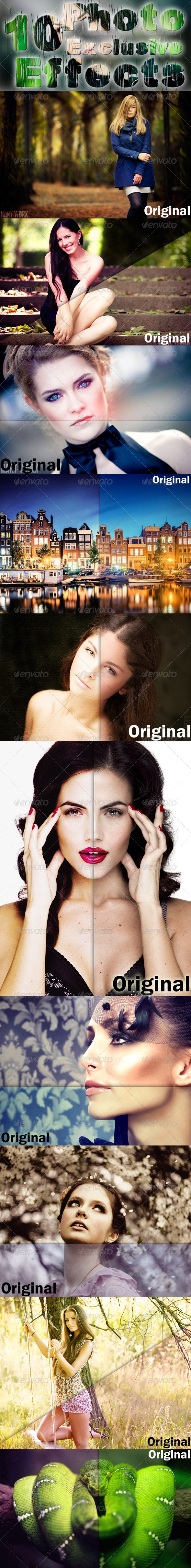 GraphicRiver 10 Photo Effects 7938314