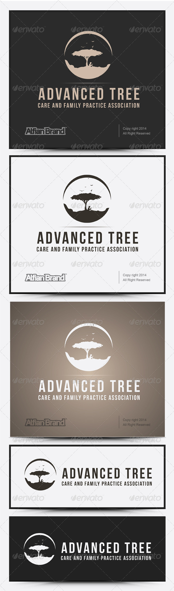 GraphicRiver Advanced Tree Logo 7938332