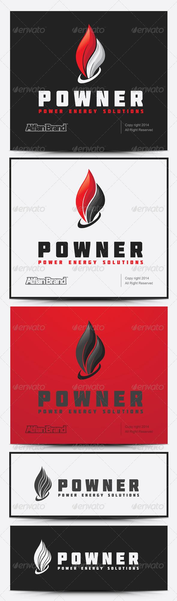 GraphicRiver Power Energy Logo 7938364